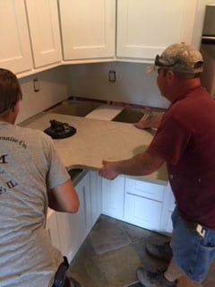 new kitchen countertops installed granite city illinois